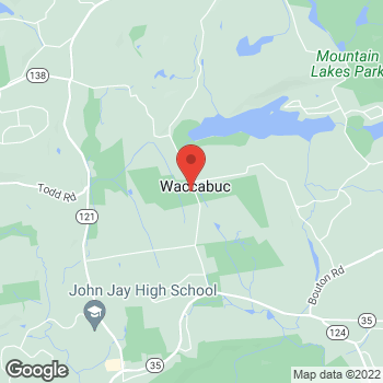 Map of Optimum WiFi Hotspot at 90 Mead St, Waccabuc, NY 10597