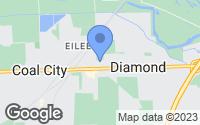 Map of Diamond, IL