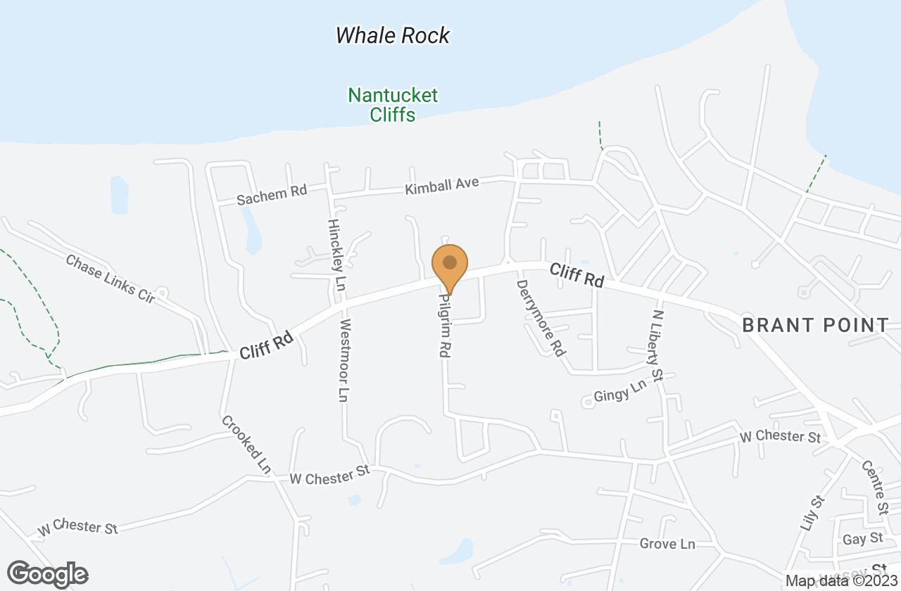 Google Map of 39 Pilgrim Rd