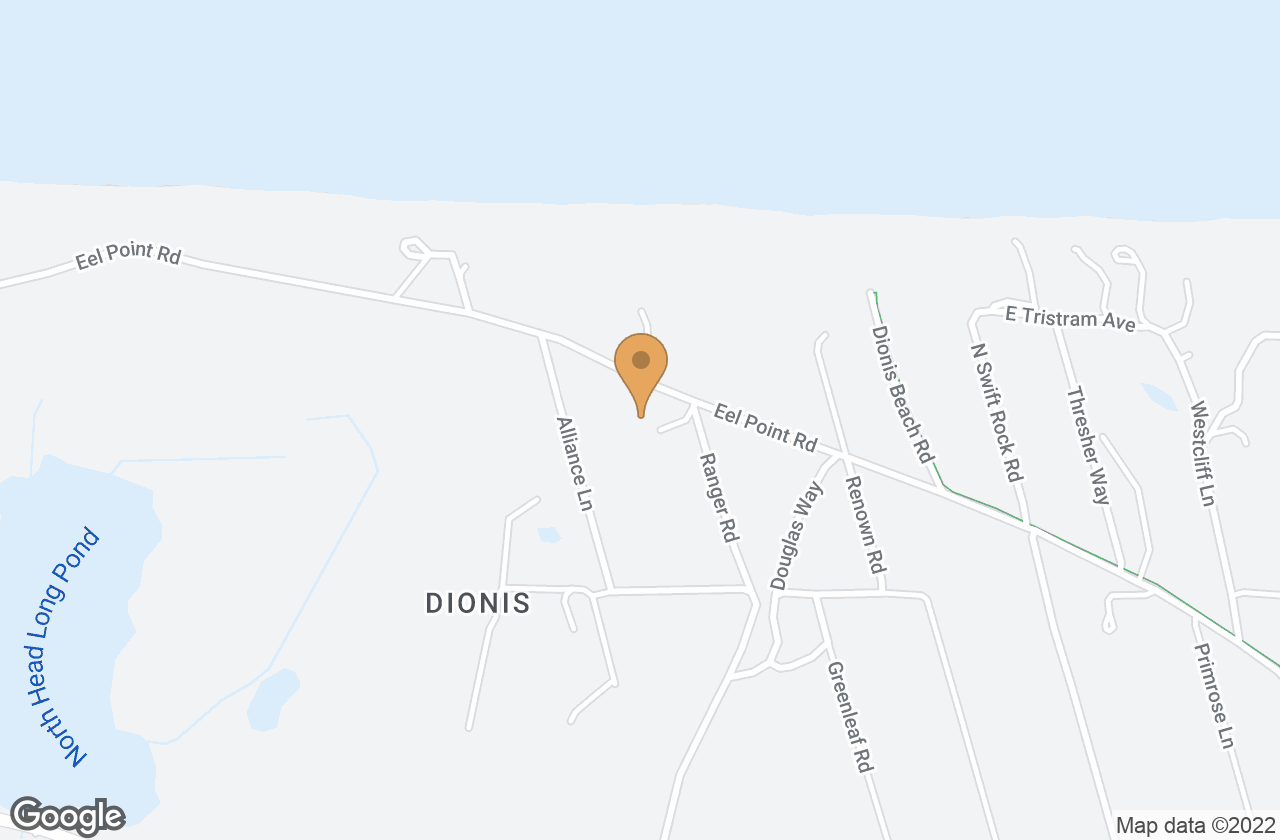 Google Map of 50 Eel Point Road, Nantucket, MA, USA