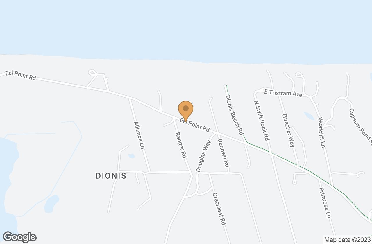 Google Map of 37 Eel Point Rd, Nantucket, MA 02554, USA