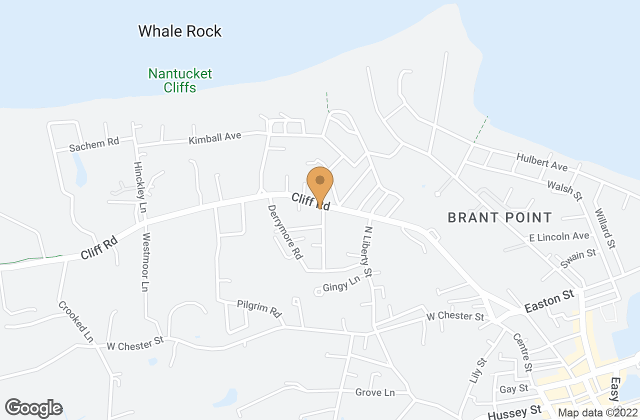 Google Map of 66 Cliff Rd