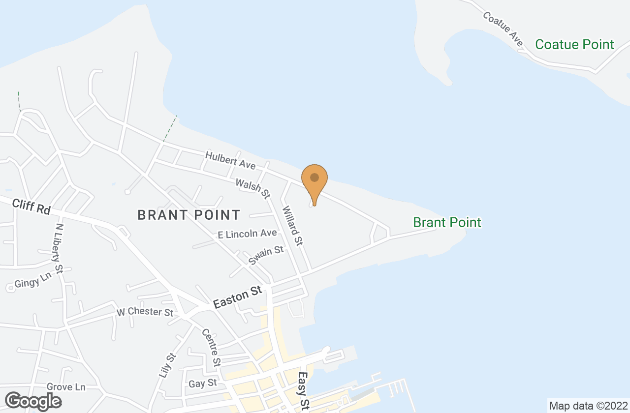 Google Map of 6 Sandy Drive, Nantucket, MA, USA