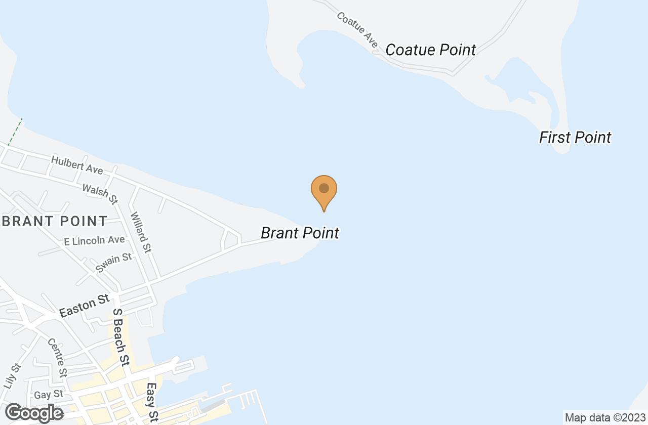 Google Map of 8 Ackermuck Way Nantucket, MA, USA