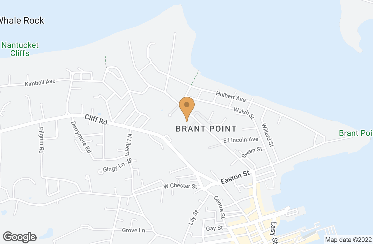Google Map of 50 North Beach Street, Nantucket, MA, USA