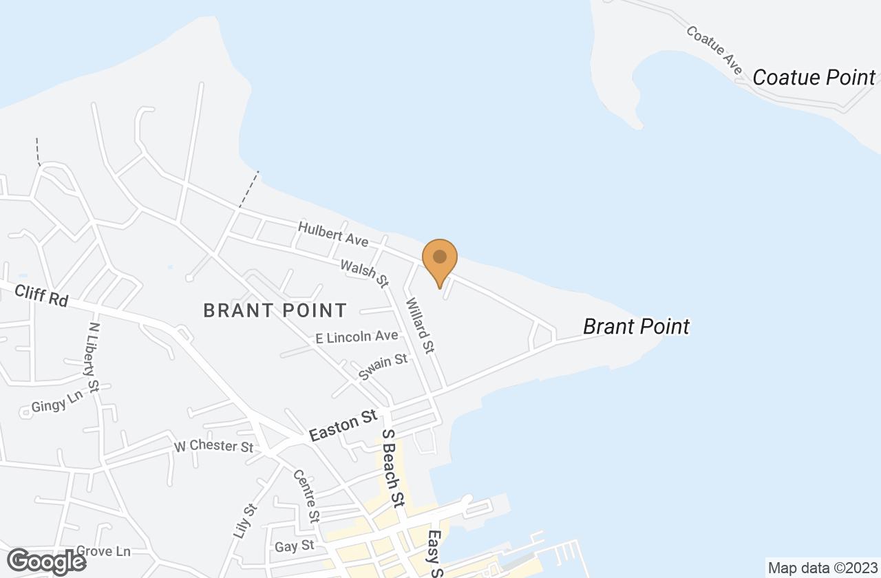 Google Map of 5 Sandy Drive, Nantucket, MA, USA