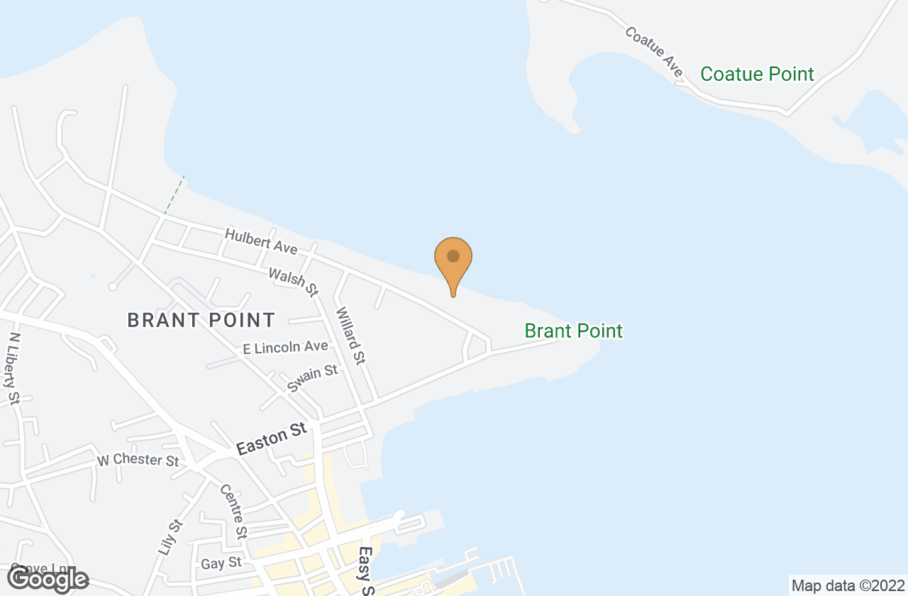 Google Map of 11 Hulbert Ave