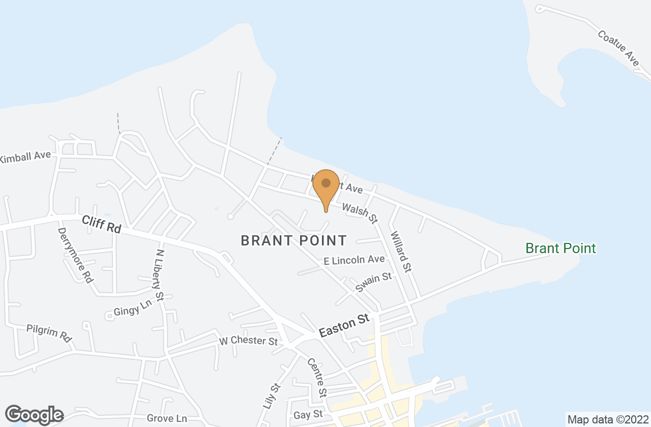 Google Map of 14 Brant Point Rd
