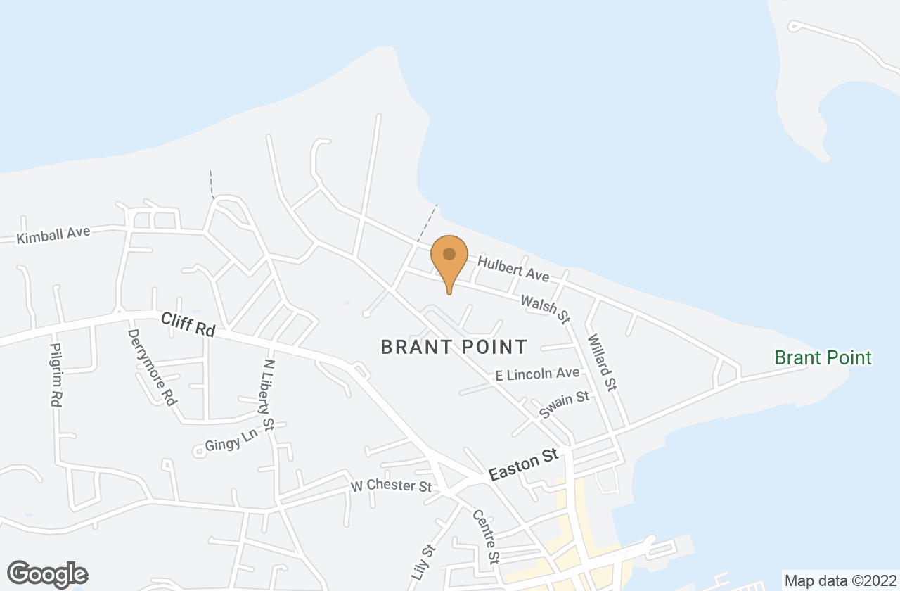 Google Map of 4 Brant Point Road , Nantucket, MA, USA