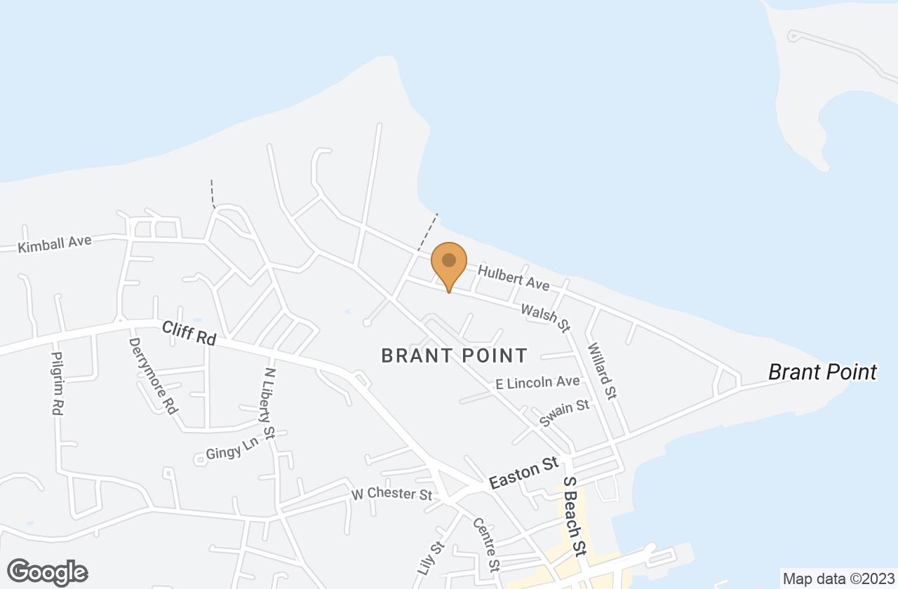 Google Map of 58 Walsh Street, Nantucket, MA, USA