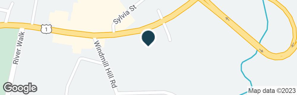 Google Map of329 E MAIN ST