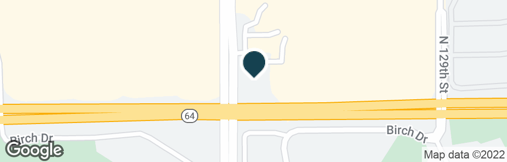 Google Map of3701 N 132ND ST