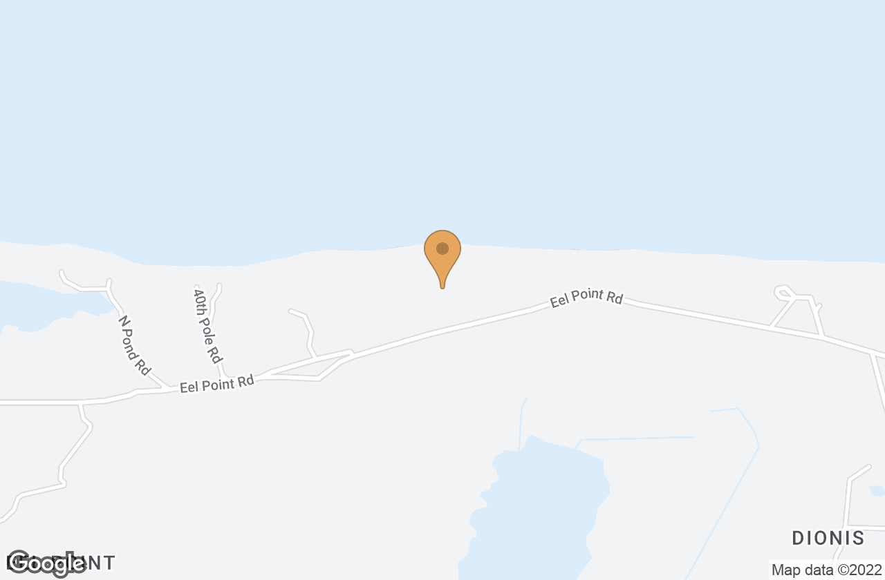 Google Map of 119R Eel Point Road, Nantucket, MA, USA