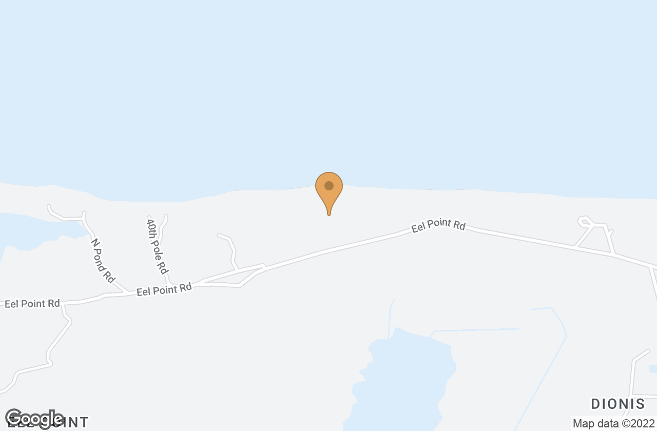 Google Map of 119 and 119R Eel Point Road, Nantucket, MA, USA