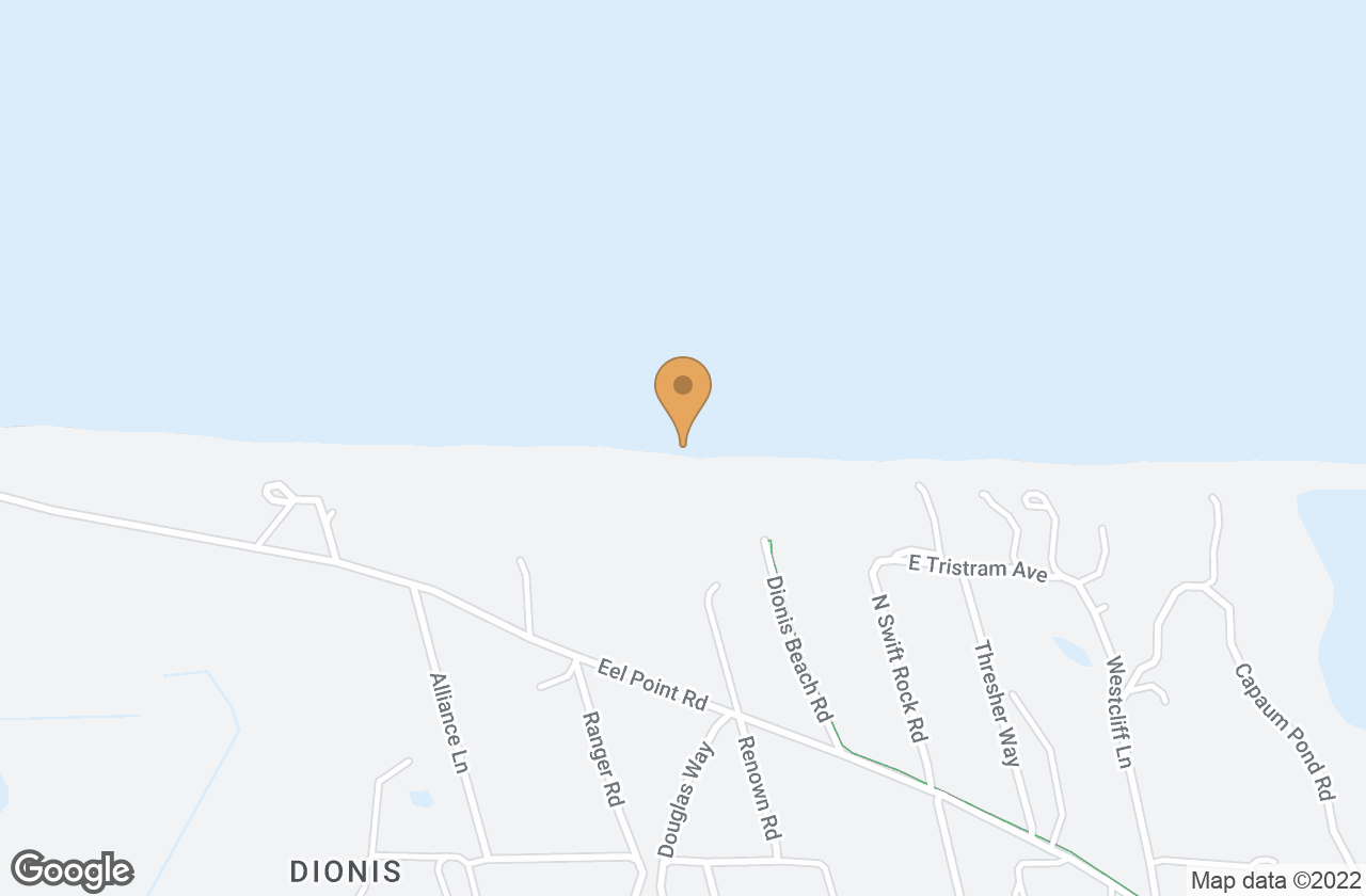 Google Map of 2 Bathing Beach Rd, Nantucket, MA 02554, USA