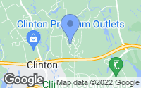 Map of Clinton, CT