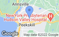Map of Peekskill, NY