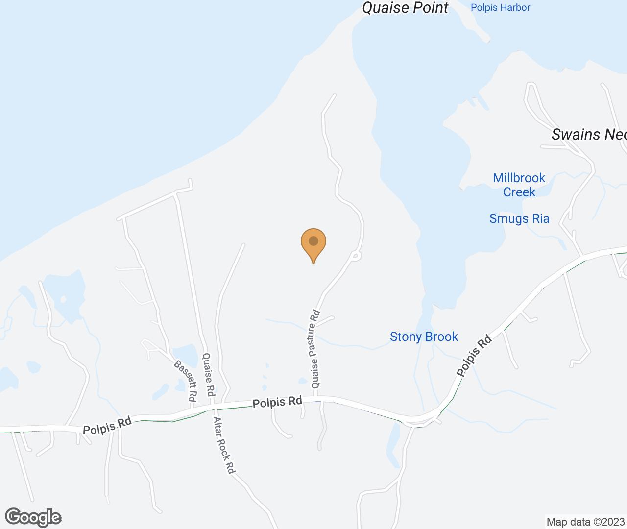 Google Map of 6 Quaise Pasture Rd