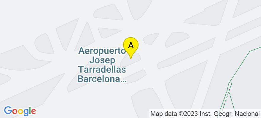 situacion en el mapa de . Direccion: Travessera de Gracia, 43, 6ª planta, 08021 Barcelona. Barcelona