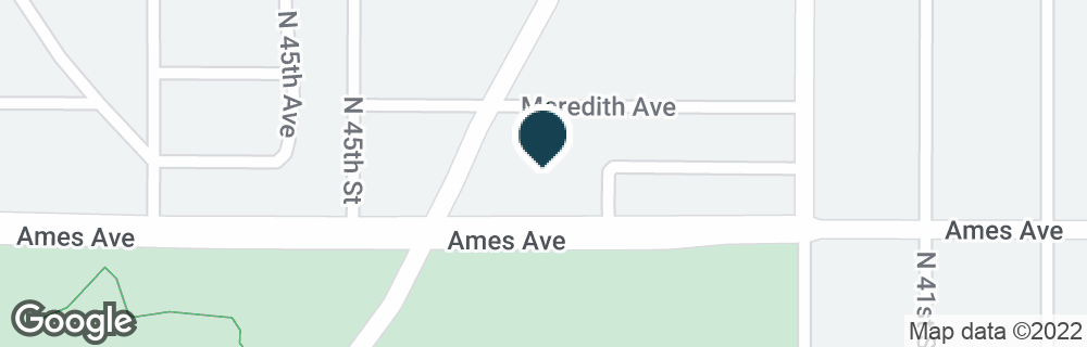Google Map of4310 AMES AVE