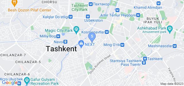 Расположение гостиницы Апарт отель на карте
