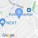 map for Suzani Souvenir and Gift Shop, Tashkent, Uzbekistan