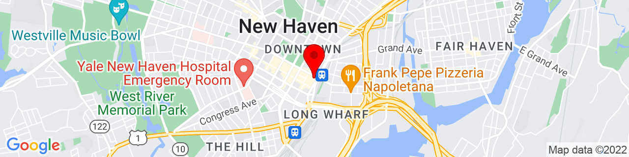 Google Map of 41.3047637, -72.92335299999999
