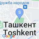 map for Медресе Абдул Косима, Ташкент, Узбекистан