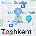 map for Abul Kosim Madrassah, Tashkent, Uzbekistan