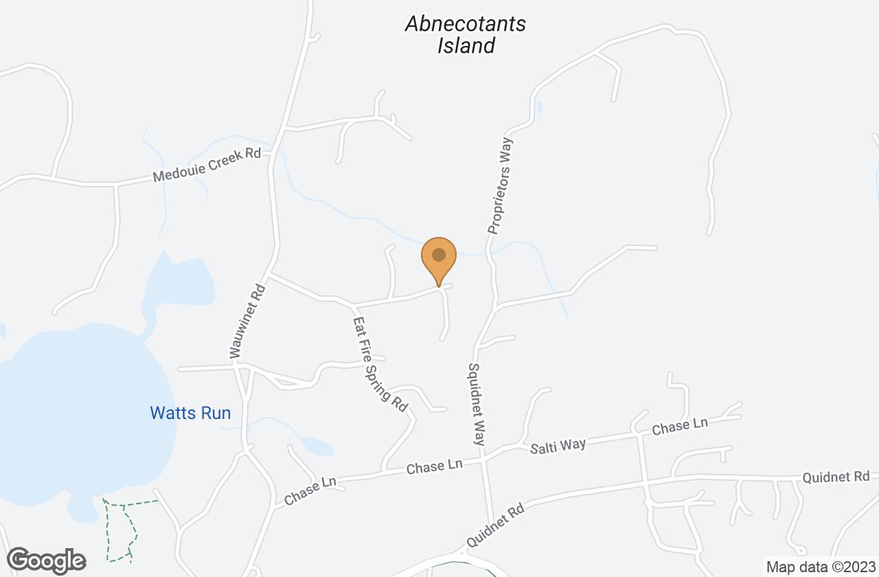 Google Map of 17 Margarets Way, Nantucket, MA, USA