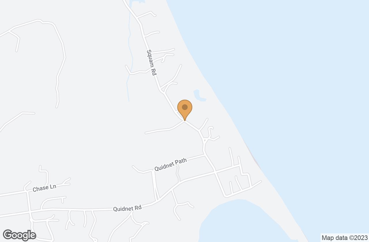 Google Map of 58 Squam Road, Nantucket, MA, USA