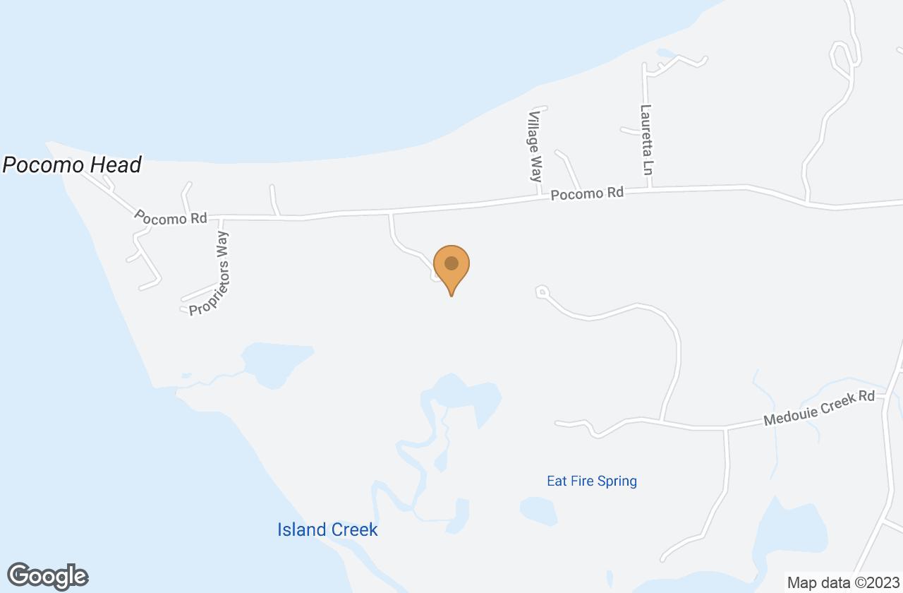 Google Map of 5 Weetamo Road, Nantucket, MA, USA