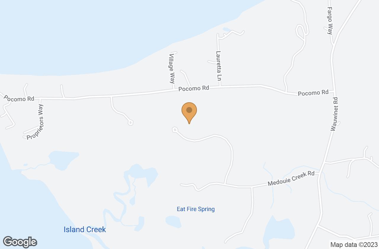 Google Map of 29 Medouie Creek Road, Nantucket, MA, USA