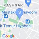 map for Museum of Amir Timur (Tamerlane), Tashkent, Uzbekistan