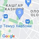 map for Музей Амира Тимура, Ташкент, Узбекистан