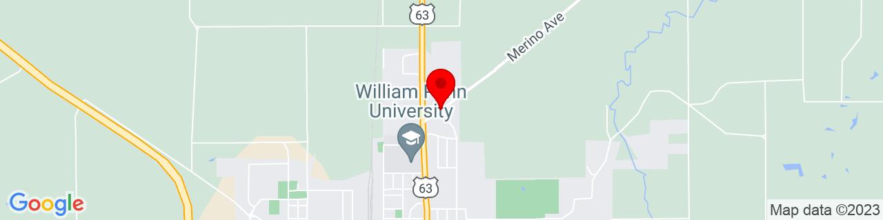 Google Map of 41.31367669999999, -92.6434816