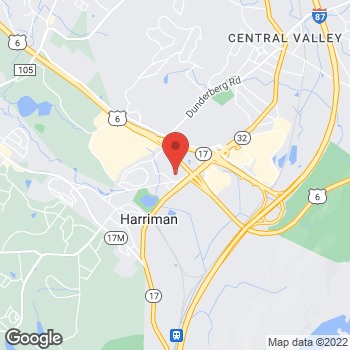 Map of Optimum WiFi Hotspot at 95 Maher Ln, Harriman, NY 10926