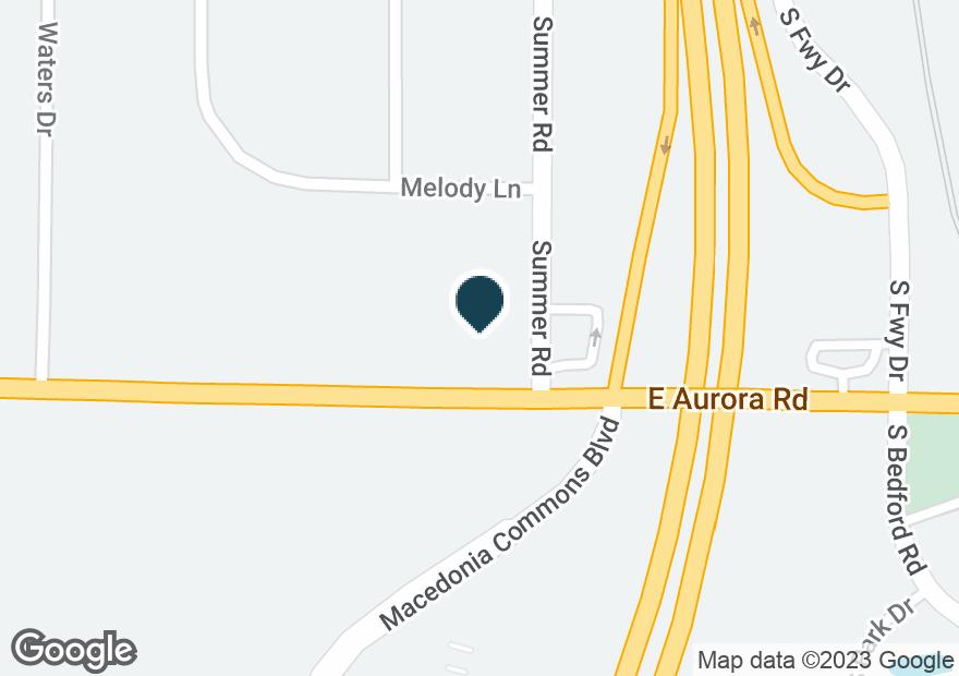 Google Map of663 E AURORA RD