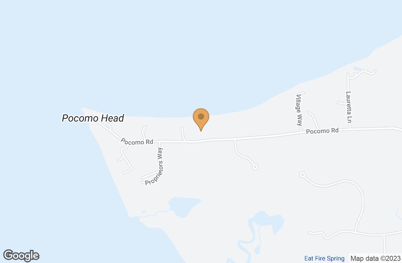 Google Map of 57 Pocomo Rd