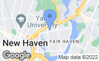 Map of New Haven, CT