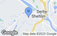Map of Shelton, CT