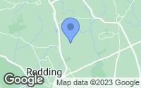 Map of Redding, CT