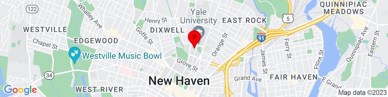 Google Map of 41.3150673, -72.92358949999999
