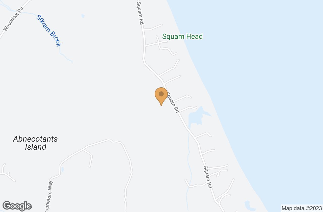 Google Map of 54 Squam Rd