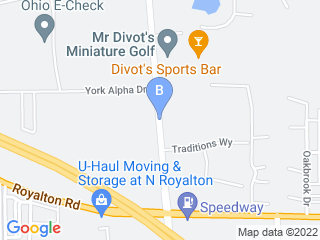 Map of Royal York Pet Motel Dog Boarding options in North Royalton | Boarding