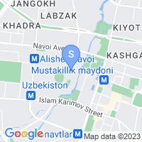 Расположение гостиницы Шодлик Палас на карте