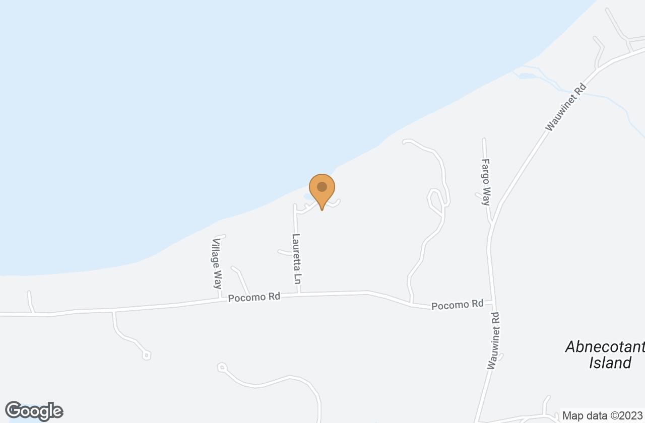 Google Map of 7 Lauretta Lane, Nantucket, MA, USA