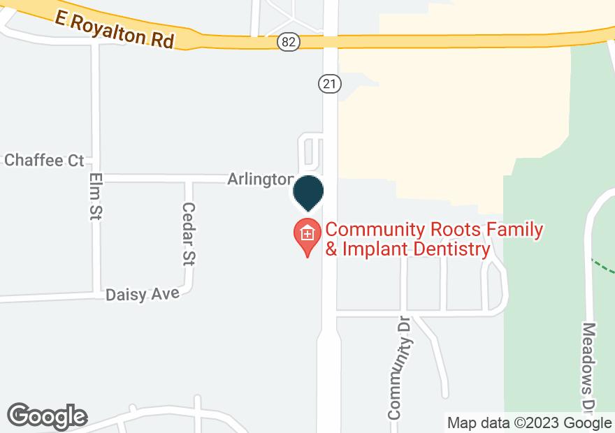 Google Map of8966 BRECKSVILLE RD