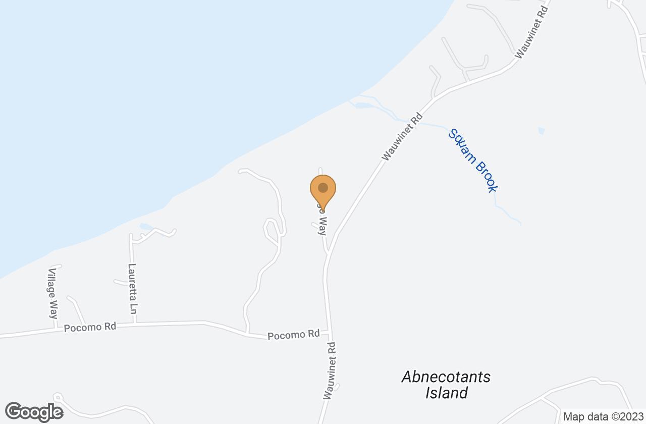 Google Map of 14.5 Fargo Way
