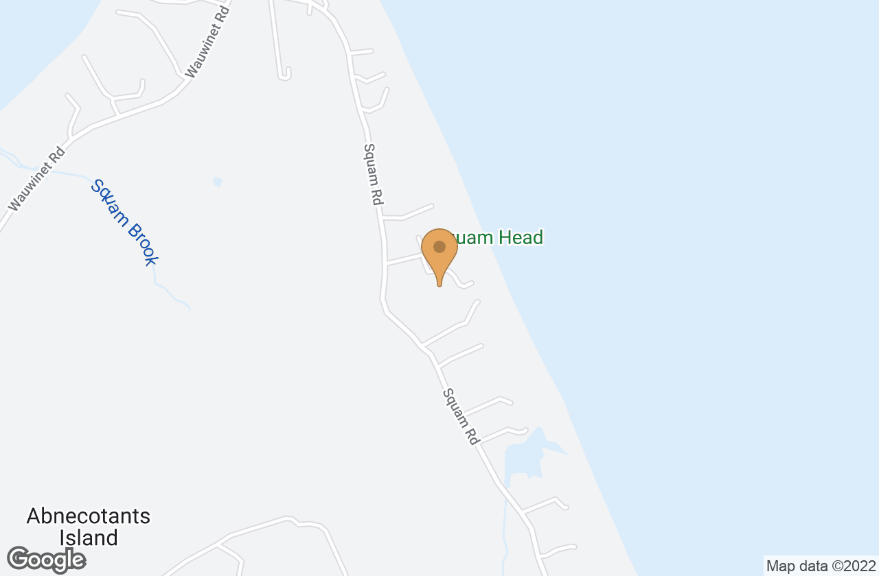 Google Map of 67 Squam Road, Nantucket, MA, USA